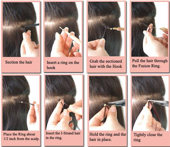 Advance nail technology gel nails acrylic nails fibreglass how to apply i strand hair extensions 1 pmusecretfo Image collections